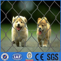 supply good quality pvc coated chain link fence/Relatively Low Cost Ease Of Installation Galvanized