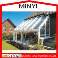 Glass sun rooms/glass sunroom/aluminum extrusion sunroom