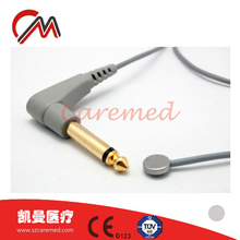 Compatible YSI 400 skin/rectal temperature probe for patient monitors