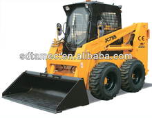 Powerful 80hp skid steer loader with capacity of 1050kg, CE approved with best price