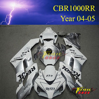 Hot sale Racing Motorcycle fairingkits ABS plastic body kits for Honda CBR1000RR 2004 2005 04 05