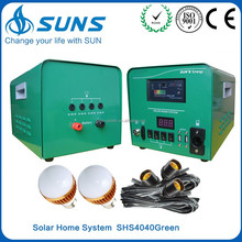 30W 40W 50W off grid mobile home solar panel home system,solar panel system with digital voltmeter