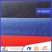 inherently special finished ring spun wholesale direct selling fire repellent fabric for coverall suit