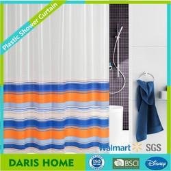 100% PEVA/EVA custom printed shower curtain, custom printed plastic/ PEVA shower curtain, high quality shower curtain