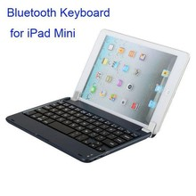 Wholesale Price Aluminium Bluetooth Wireless Keyboard for iPad Mini