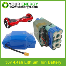 36V Smart self balancing electric board battery packs to Dubai, England, America, Germany