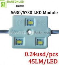 3pcs samsung 5630 /5730 led module samsung led modules wholesale distributors