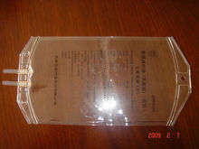 Disposable medical PVC IV infusion bag