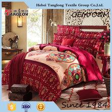 Hot design Chinese duvet cover home texitle comfortable sheeting, duvet cover pillow case bed sheet bedding duvet cover set