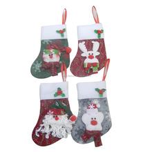decoration hanger Santa deer snowman ornament Christmas stocking
