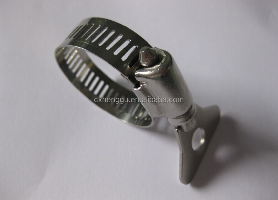 Merveilleux Garden Hose Clamp,Pipe Clamp With Handle/amerian Type Hose Clip /key ...
