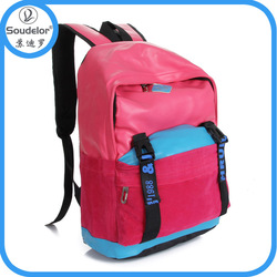 newly fashion blank wholesale canvas backpack