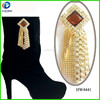 Jewelry boot clip rhinestone chains shoes metal ornament for high heel boots decoration for women