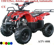 high reputation 4 wheels atv for adults 110CC -125cc 4stoke air cooled engine Automatic