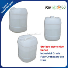 Surface Insenstive Ethyl Cyanoacrylate Raw Adhesive Solvent Free Bulk Super Glue