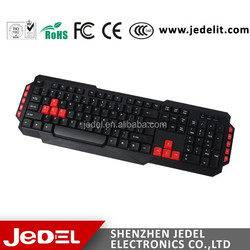 multimedia keyboard with usb port new fashion design color keyboard waterproof