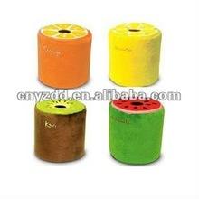 Plush tissue box cover cute design toy