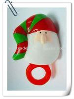 Christmas Flashing Santa Claus Ring