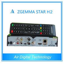 Enigema HD Zgemma star h2 cccam satellite receiver combo dvb s2 dvb t2 arabic channels iptv box