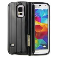 Fashion mobile Cell smart phone Plastic+TPU Suitcase traveling kiki Carrier Luggage Case Design back Cover for Galaxy S5