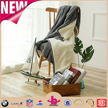 cable knit throw blanket low price and high item cable knitting blanket/king size cable knitted blanket
