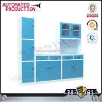 Good quality Modern modular kitchens designs price, Kichen cabinets with timber veneer finish in wooden color