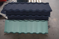 Jinhu Brand colorful roof shingle stone coated roof tile