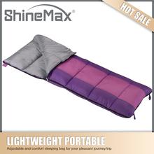 hot sell purple down mummy sleeping bag