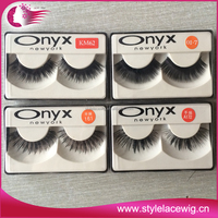 Improted material factory price strip eyelash