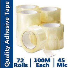 Oem Wrapping Tape (BOPP Film and Water-Base Acrylic)