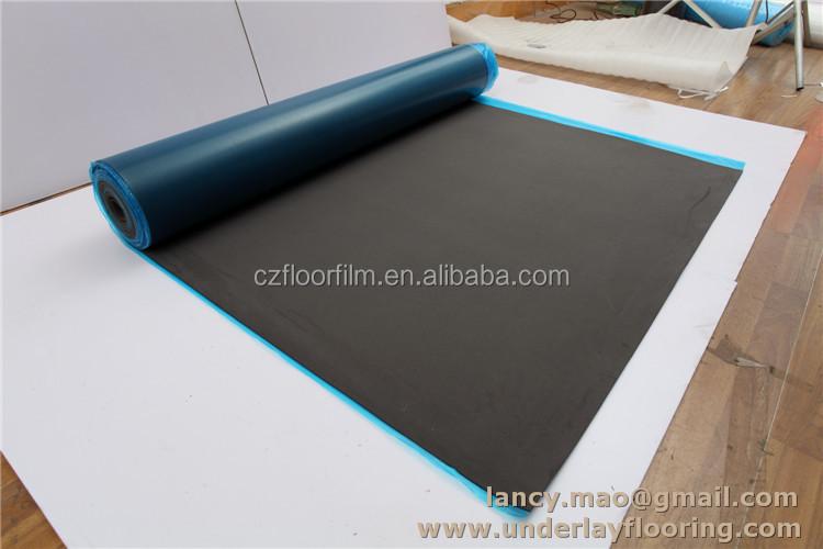Moisture resistant underlayment impact sound insulation for Moisture resistant insulation