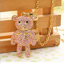 Lovely bear shape crystal usb,jewelry usb flash drive,promotional usb flash drive