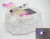 Butterfly Solar stone light,Solar lighting