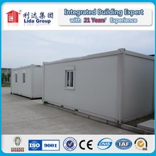 SGS authentication modular and mobile prefab container for toilet/office