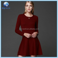 Woolen sweater dress time black ops, Alibaba China Wholesale plain knitted sweater dress