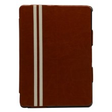 Fashion design PU adjustable flip cover for iPad air 2