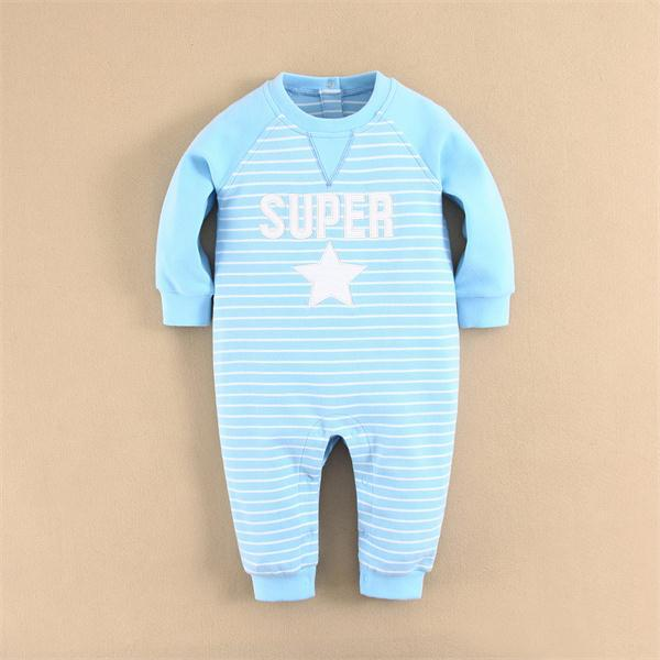 Fashion Five Star Baby Clothes High Quality Baby Romper Cute Infant Romper Cotton Toddlers Romper Stock