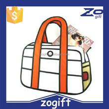 ZOGIFT wholesale 54 style retro fashion cartoon computer bag,camera cartoon shoulder 2d bag gismo carry in space.