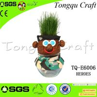 Handicraft company promotional gifts grass doll planter promotion companies , personalized office gifts