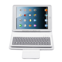 10 inch tablet pc leather case with bluetooth keyboard,for iPad keyboard case