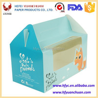 Factory price customized printed food packaging box for dessert