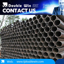 SS400 oiled Black black steel pipe /tube Building Material of Black Pipes