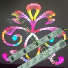 5v ws2801 waterproof flexible led strip, with 12mm pcb width,32LEDs/m