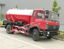 8 metros cubo caminhão de sucção de esgoto vácuo de esgoto caminhão tanque para vendas