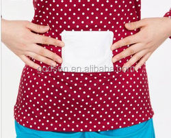 Mini convenient design heat patch(self adhesive warming),menstrual pain relief patch heat