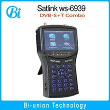 No Custom Duty , Satlink WS-6939 Digital Satellite & Terrestrial Combo Meter ,DVB-S DVB-T ws6939