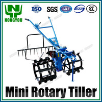 Chinese OEM Manual Tiller Hand Rotary Cultivator Low Price Hand Plough Machine For Paddy Field 1Z-20