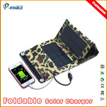 7W New Hot Sale Foldable Solar Charger Bag voltage controller usb solar