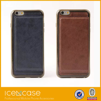 New Arrival Wallet Removable Leather Flip Mobile Phone Cases for iPhone 6 Plus 5.5 inch