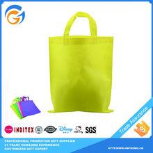 Yellow Non-Woven Fabric Bag Non-Woven Tote Bags